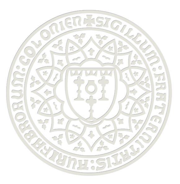 Das Siegel der Juwelier-, Gold- und Silberschmiedeinnung Köln
