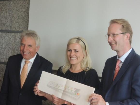Jürgen Rothers, Verena Metzen und Dr. Patrick Adenauer (v.l.)