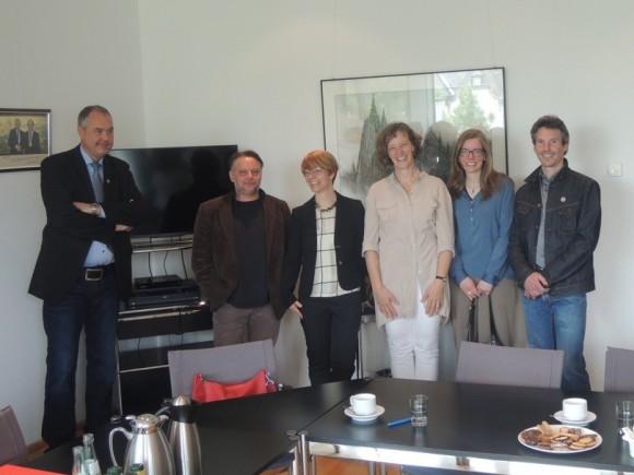 Frank Wallraf, Ingo Telkmann, Jutta Grote, Gisela Nicolaysen, Ullrike Ullmann, Micha Peteler (v.l.)