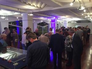 Abend der Ausstellungseröffnung